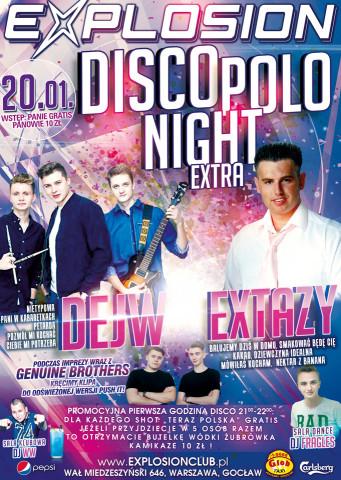 koncert DEJW & EXTAZY