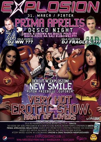 Prima Aprilis Disco Night