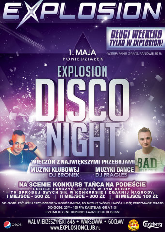 Explosion Disco Night