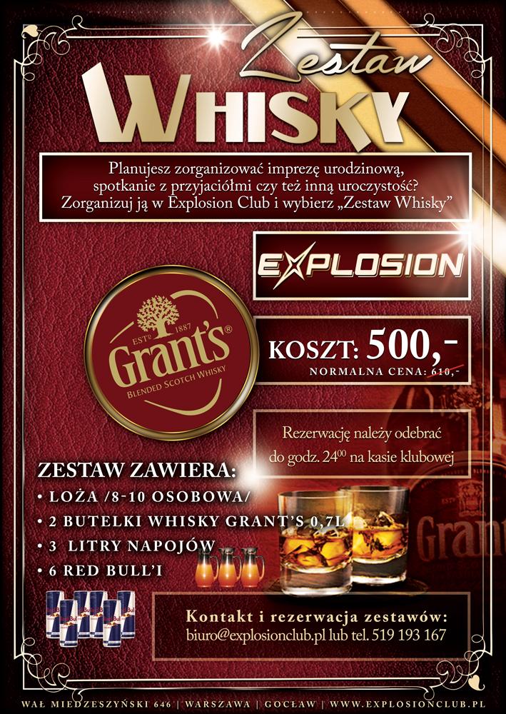 Whisky zestaw