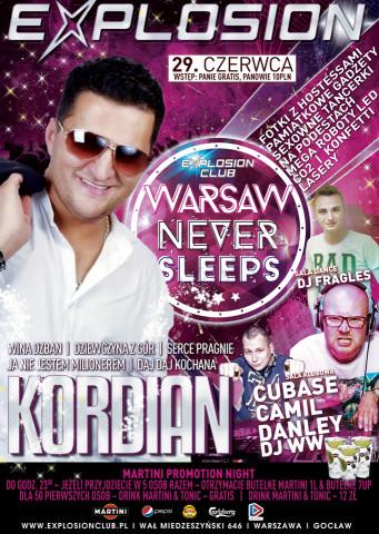 Warsaw Never Sleeps