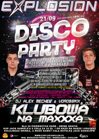 Disco Party & Klubowa na Maxxxa