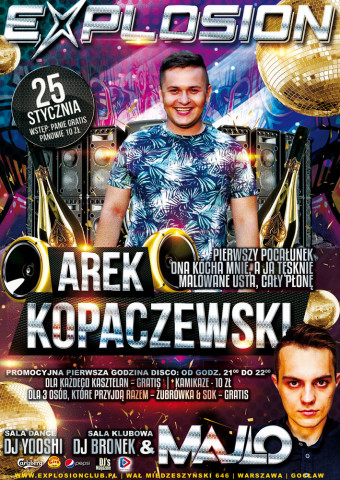 Koncert Arka Kopaczewskiego