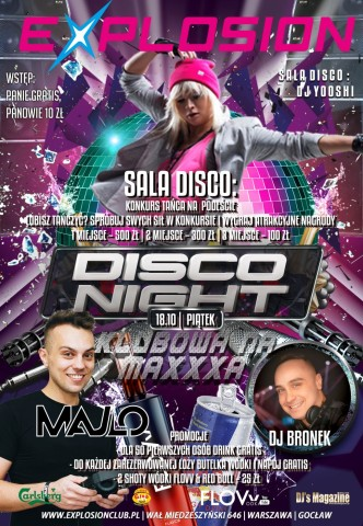 DISCO NIGHT & KLUBOWA NA MAXXXA