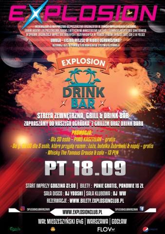 EXPLOSION DRINK BAR